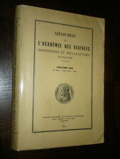 MEMOIRES DE L'ACADEMIE DES SCIENCES DE TOULOUSE - Volume 139 - 1977
