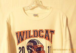 Men's Gildan Kentucky Wildcats 2011 District Champs White T-Shirt 3XL