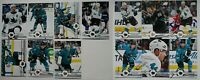 2019-20 Upper Deck UD San Jose Sharks Series 1 & 2 Team Set 13 Hockey Cards