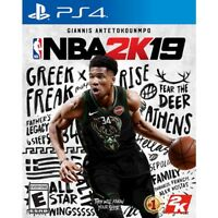 NBA 2K19 (Sony PlayStation 4, 2018) - Brand New & Factory Sealed