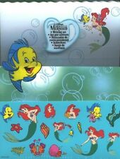 Disney Little Mermaid Ariel Writing Set 20 Sheets 10 Envelopes Sheet of Stickers