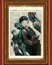 Tokyo Ghoul Dictionary Art Book Picture Poster Shuu Rize Touka Kaneki Anime