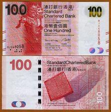 Hong Kong, $100, 2014, SCB, P-299-New, UNC