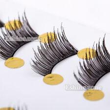 Black Thick 10 Pairs Makeup Half Eyelashes Mini False Corner Accent Eye Lashes