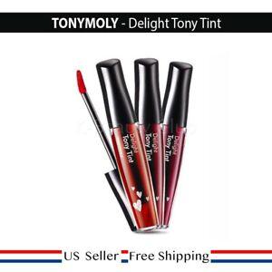 Tony moly Delight Tony Tint 8.3ml CHERRY PINK, RED, ORANGE CHA CHA + FREE SAMPLE