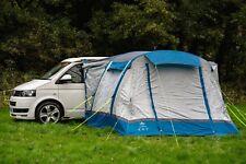 Gonflable Camping-Car Moteur Extérieur Auvent - Olpro Loopo Brise (Bleu & Gris)