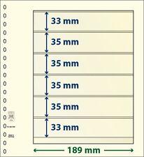 Lindner T-Blanko-Blätter mit 6 Taschen im 10er Pack  Art.-Nr. 802 606