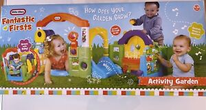 Kids Play House Little Tikes Fantastic Firsts Toy Activity Garden Toddler