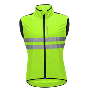 Cycling Bicycle Outdoor Sports Vest Sleeveless Jersey Wind Vest Windproof