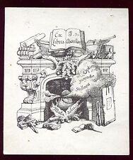 EX LIBRIS .  Joseph des Bouillons
