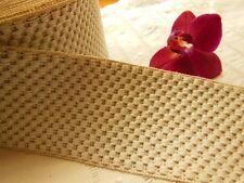 very wide braid vintage damask per metre width 5,4 cm hat??? C1