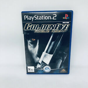 GOLDENEYE Rogue Agent PS2 PLAYSTATION 2 Complete PAL Game Very Good Condition