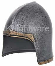 Medieval Knight's Helmet for Kids - Costume Accesorie. LARP, Stage, Reenactment