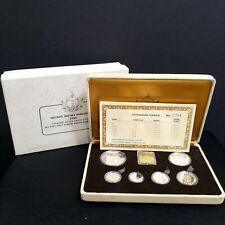 1988 Brunei Silver Proof Coin set-With Original box and COA No: 0785