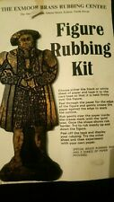 Victorian craft, Make your own Brass rubbing' Henry V111' History craft