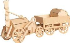 Stephenson's Rocket - QUAY Woodcraft Construction Kit Wooden 3D Model kit Age 7+