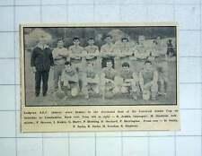 1967 Ludgvan Afc Team Photograph, Stevens, Jenkin, Orchard, Herrington, Jacka