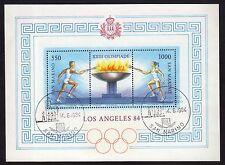 SAN MARINO 1984 Foglietto Olimpiadi Los Angeles USATO
