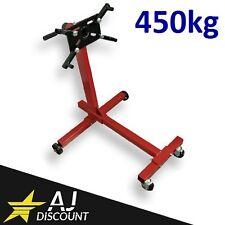Support moteur sur roulette rotatif 450 kg pour garage - Pied de support