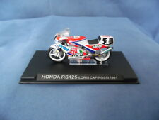 MODELLINO MOTOCICLETTA METALLO-1/24-HONDA RS 125 - LORIS CAPIROSSI DEL 1991