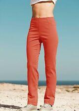L30 Gerades-Bein Damen-Hosen mit Baumwolle