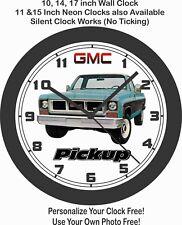 1973 GMC Pickup Truck Wall Clock-Free USA Ship