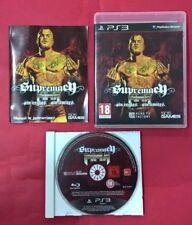 Supremacy MMA - PLAYSTATION 3 - PS3 - USADO - BUEN ESTADO