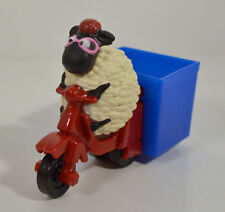 "2014 Motorcycle 3.75"" McDonald's EUROPE Action Figure Shaun the Sheep Movie"