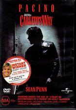 CARLITO'S WAY - DVD R4 (2004) Al Pacino - Good Cond - FREE POST