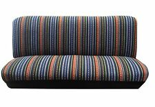 Baja Blue Saddle Blanket Bench Seat Cover Row Full Size Chevy Silverado Trucks