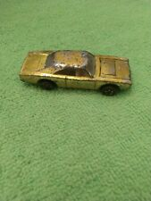/Hot Wheels Redline Dodge Charger Metallic Yellow/Gold Junker 1969