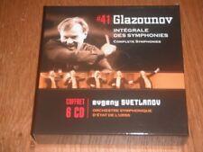 Glazunov - Complete Symphonies - Evgeny Svetlanov (6xCD)