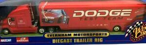 Winner's Circle 1/64 Dodge Different Test Team Trailer Rig Tractor Trailer (T10)
