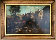 Henry Alken Oil Painting On Panel The Mail Coach