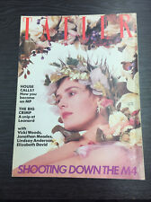 Tatler Magazine Feat Lucy Ferry, March 1985