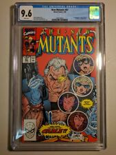 CGC 9.6 NEW MUTANTS #87 MARVEL 3/1990 1ST CABLE STRYFE MUTANT LIBERATION FRONT S