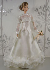 BARBIE DOLL ROBE DE MARIÉE WEDDING GOWN #01901