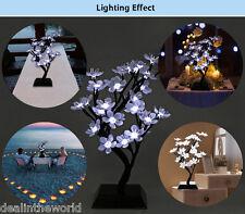 Hogar Mini 2w 150lm Ciruela en flor LED Árbol Luz Decoración Lámpara de trabajo