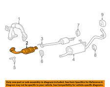 TOYOTA OEM 01-04 Tacoma 3.4L-V6-Catalytic Converter 1741007041