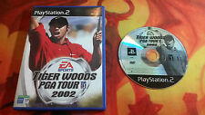 TIGER WOODS PGA TOUR 2002 PLAYSTATION 2 PS2 ENVÍO 24/48H