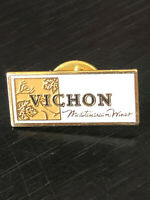 Vintage Collectible Vichon Wines Colorful Metal Pinback Lapel Pin Hat Pin