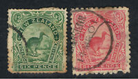 NEW ZEALAND 1898 - 1900 6d KIWI