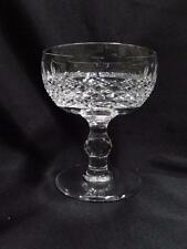 """Waterford Crystal Colleen, Short Stem, Thumbprints: Champagne/Sherbet (s) 4 3/8"""""""