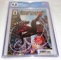 Miles Morales: Spider-Man #1 CGC Universal Grade Comic 9.8 Second Printing HTF