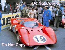Chris Amon Ferrari 312 P Coupe Le Mans 1969 fotografía
