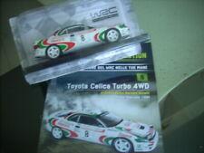 AUTO DA RALLY  TOYOTA CELICA  TURBO 4 WD    WRC SCALA 1/24