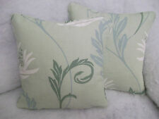 "LANFORD PAR LAURA ASHLEY 1 PAIR OF 16"" HOUSSE COUSSIN - DOUBLE FACE & AMBIANCE"