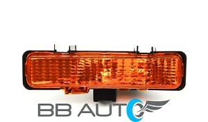 83-94 CHEVY S10 BLAZER GMC S15 JIMMY LH FRONT BUMPER PARK SIGNAL LIGHT LENS NEW