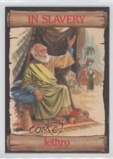 1989 re-Ed Bible Cards In Slavery #6 Jethro Non-Sports Card 0q3