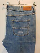 Stylish BNWT denim jeans by FARAH - Murray Rigid - Pale blue W40 L30